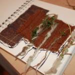 student textile piece